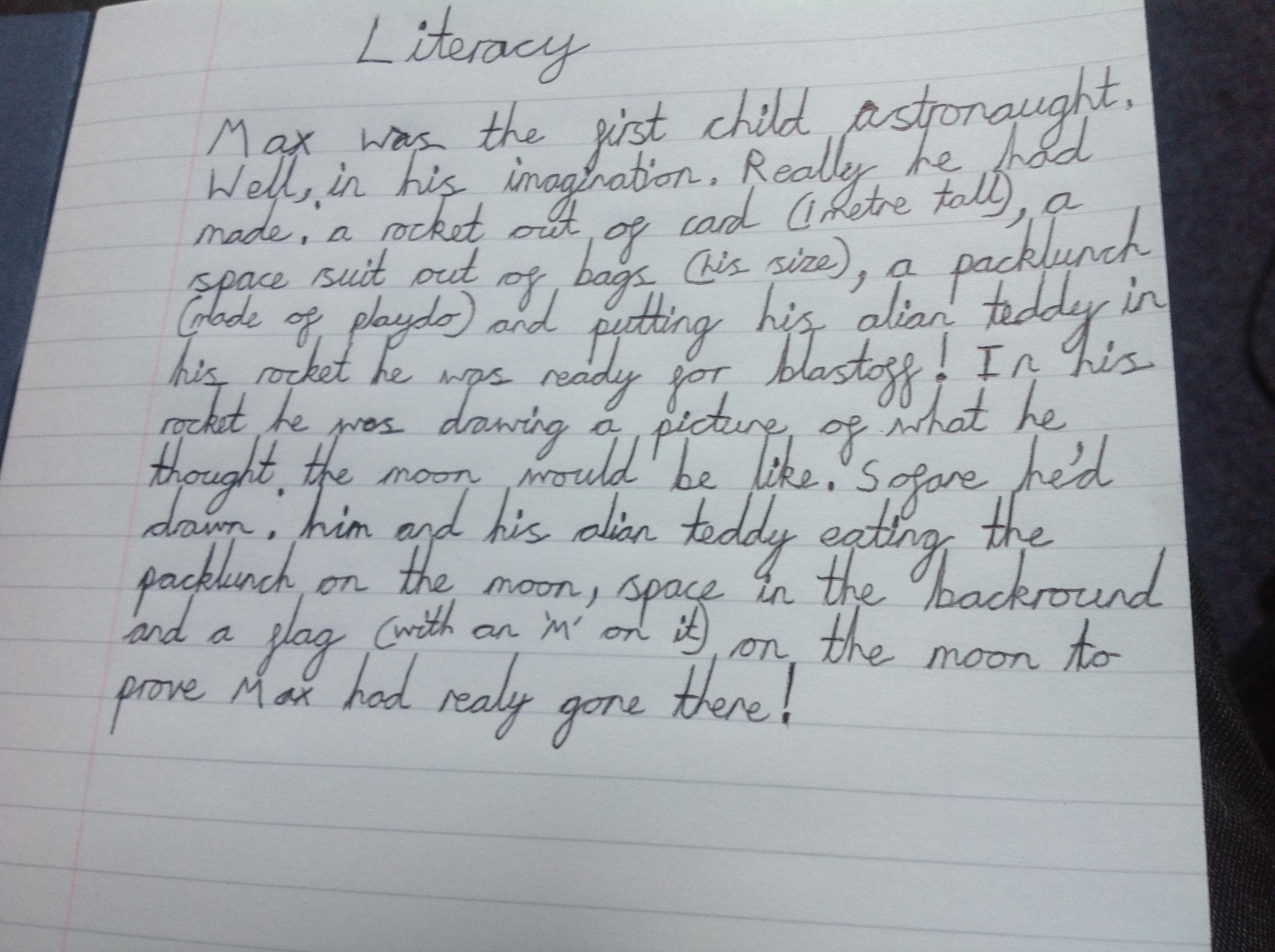 100 Word Challenge   Thornton Dale School Blog